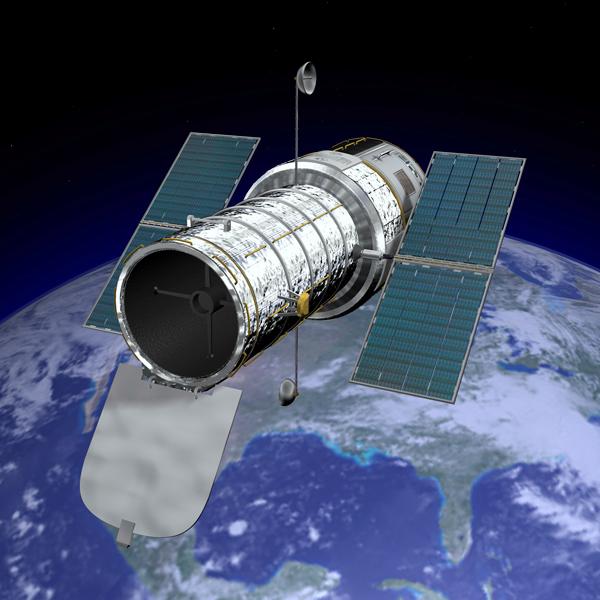 Hubble Telescope Launch - Pics about space
