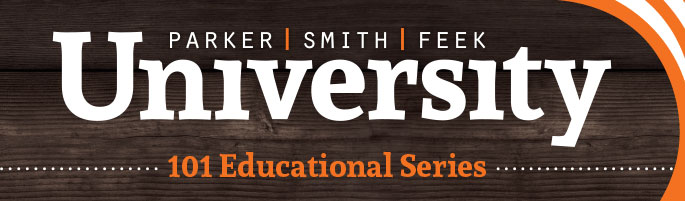 Parker, Smith & Feek University Seminars