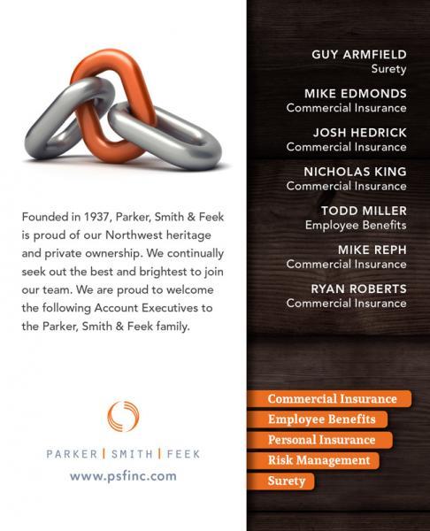 New PS&F Account Executives : Guy Armfield, Mike Edmonds, Josh Hendrick, Nicholas King, Todd Miller, Mike Reph, Ryan Roberts