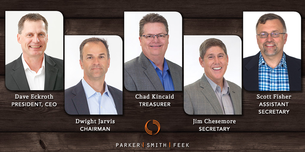 Parker, Smith & Feek announces new CEO and officers