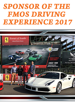 Parker, Smith & Feek : Sponsors of the FMOS Driving Experience 2017