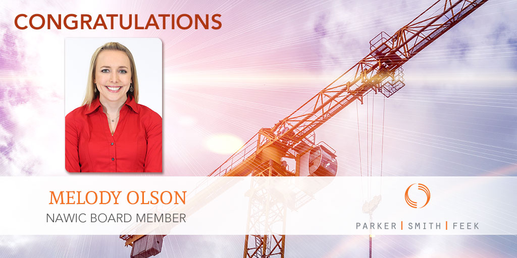 Congratulations Melody Olson!