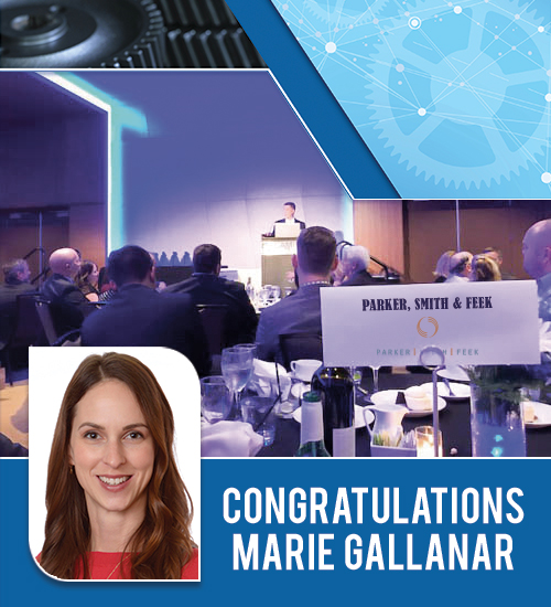 Congratulations Marie Gallanar!