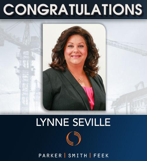 Lynne Seville Congrats!