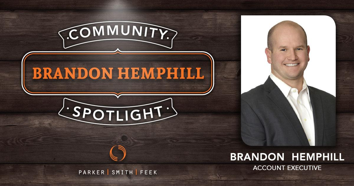 Employee Spotlight: Brandon Hemphill