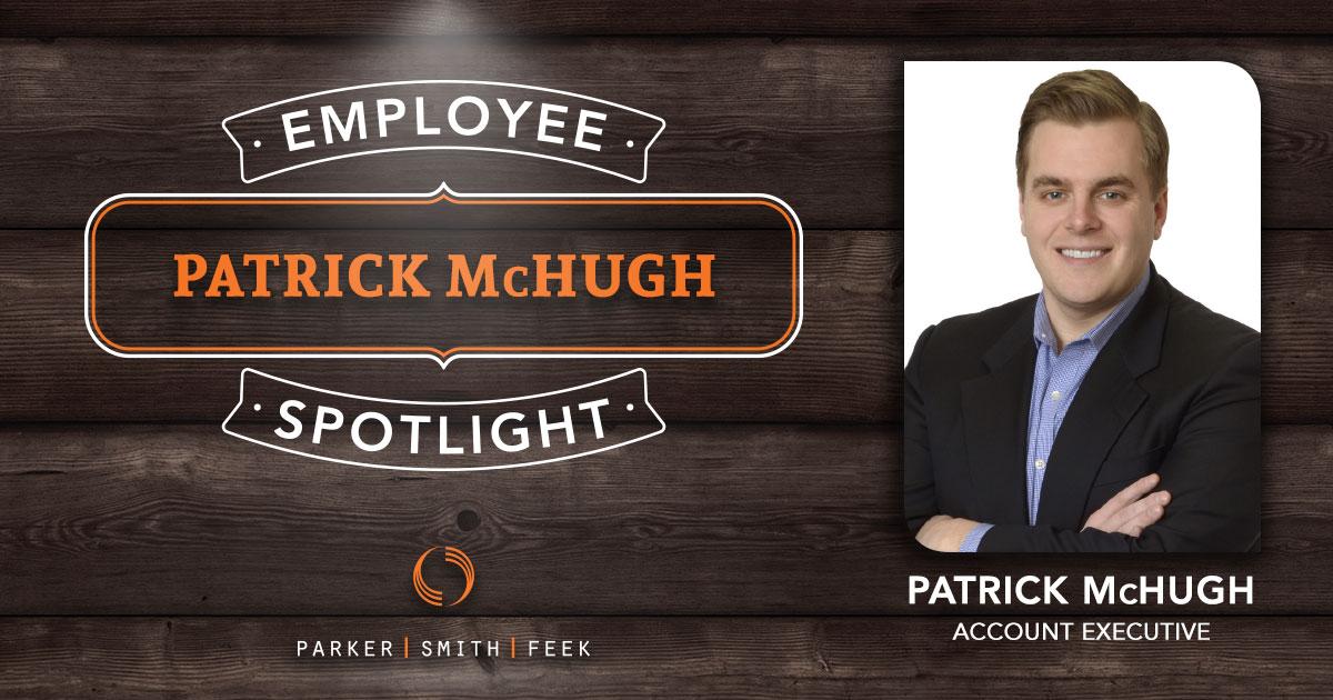 Patrick McHugh Employee Spotlight