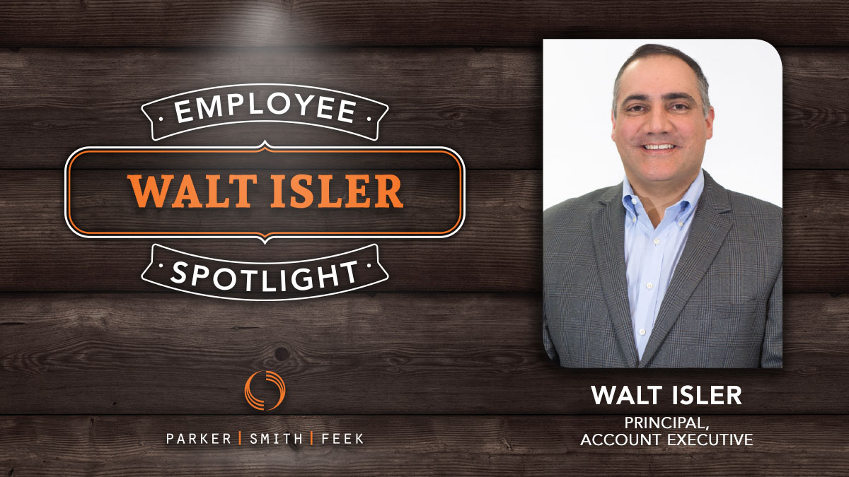 Walt Isler Employee Spotlight
