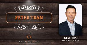 Employee Spotlight Peter Tran
