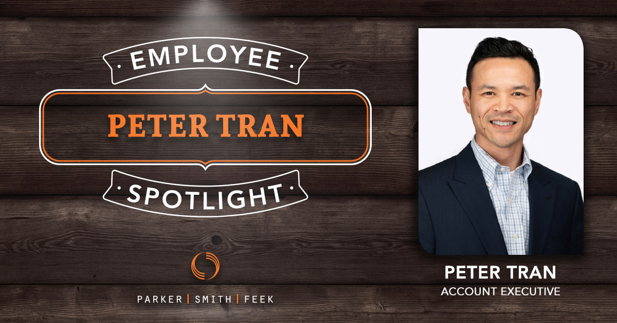 Employee Spotlight Peter Tran