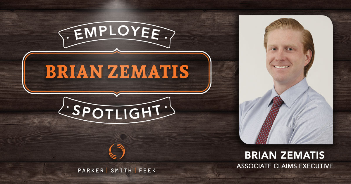 Brian Zematis // Parker, Smith & Feek's Associate Claims Executive