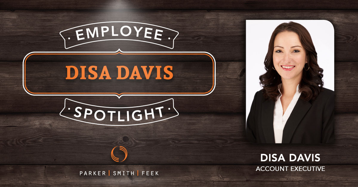 For Parker, Smith & Feek's Benefits Account Executive Disa Davis, insurance is more than just her career – it's how she makes the world a better place. Learn more about Disa and her passion in this week's Employee Spotlight.