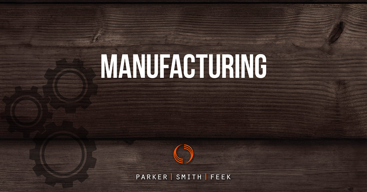 Manufacturing - Parker, Smith & Feek – Business Insurance