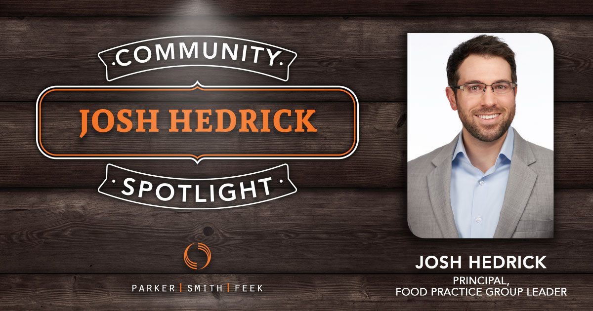 Parker, Smith & Feek Principal and Food Practice Group Leader Josh Hedrick is constantly trying to find the best ways to get food to needy people. Read more about his work with @Food Lifeline in our latest Community Spotlight srcset=