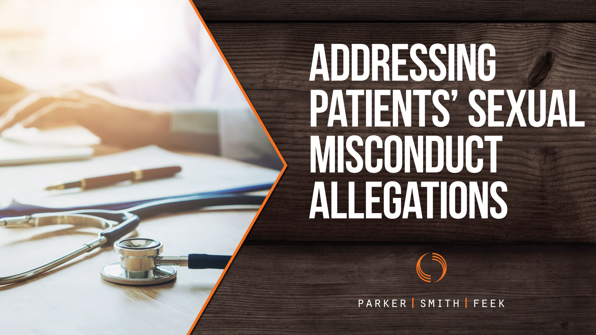 All healthcare organizations should have a plan in place to investigate and resolve any allegations of sexual misconduct – as well as prevent them from occurring in the first place. Watch to learn more from Parker, Smith & Feek's Clinical Risk Manager Danielle Donovan.