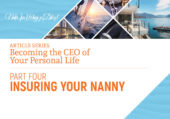 Insuring your nanny