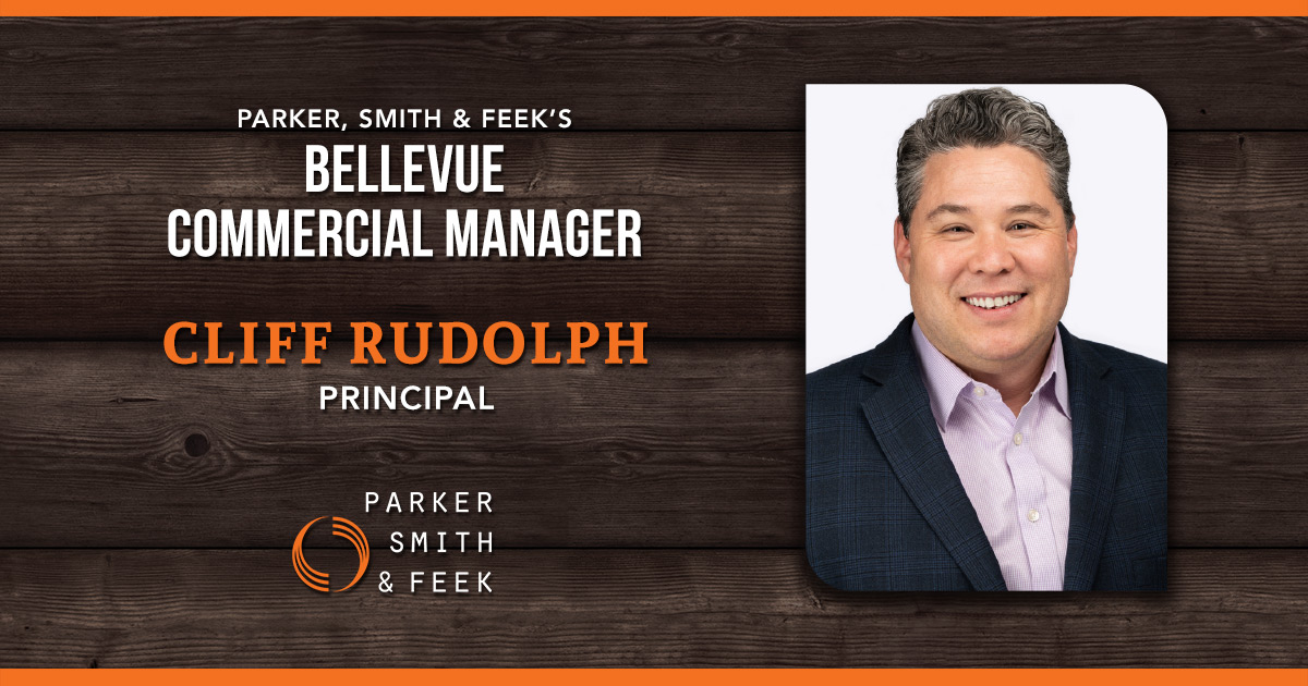 Cliff Rudolph: Bellevue Commercial Manager