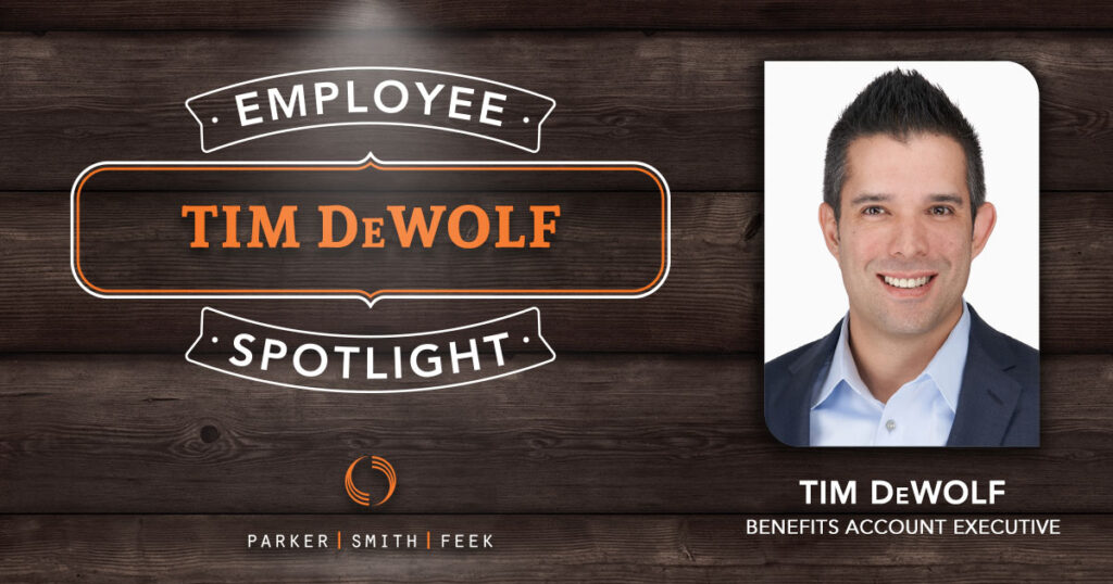 Tim DeWolf / Employee Benefits Account Executive
