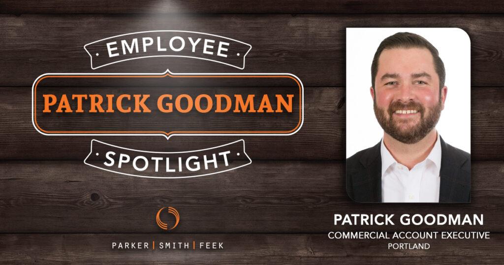 Parker, Smith & Feek Employee Spotlight, Patrick Goodman