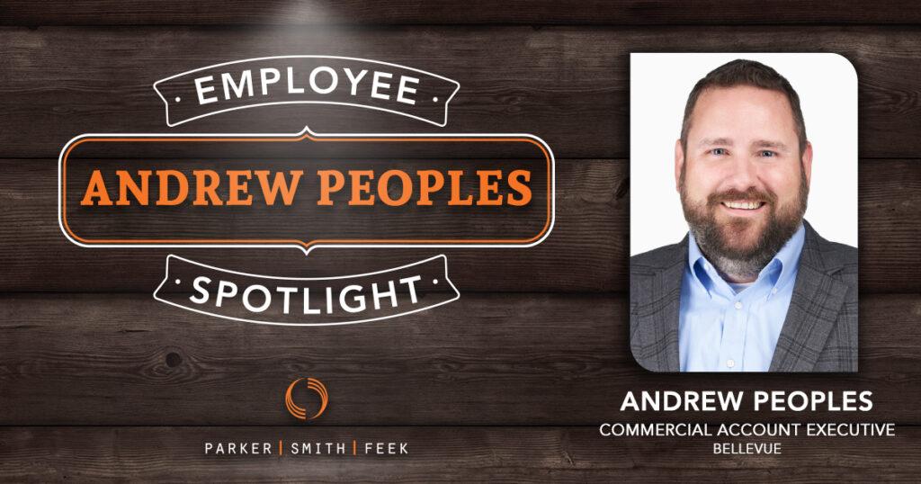 Parker, Smith & Feek Employee Spotlight, Andrew Peoples