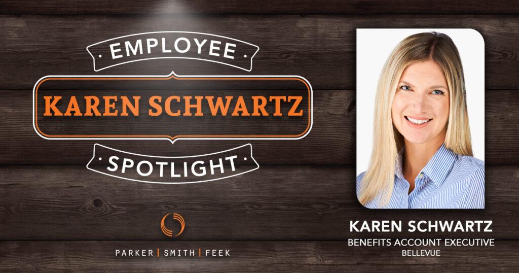 Parker, Smith & Feek Employee Spotlight, Karen Schwartz.