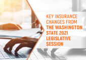 Key Insurance Changes from the Washington State 2021 Legislative Session Frontpage Banner Image