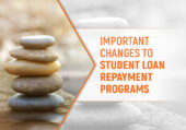 Banner for the article, Student loan repayment programs