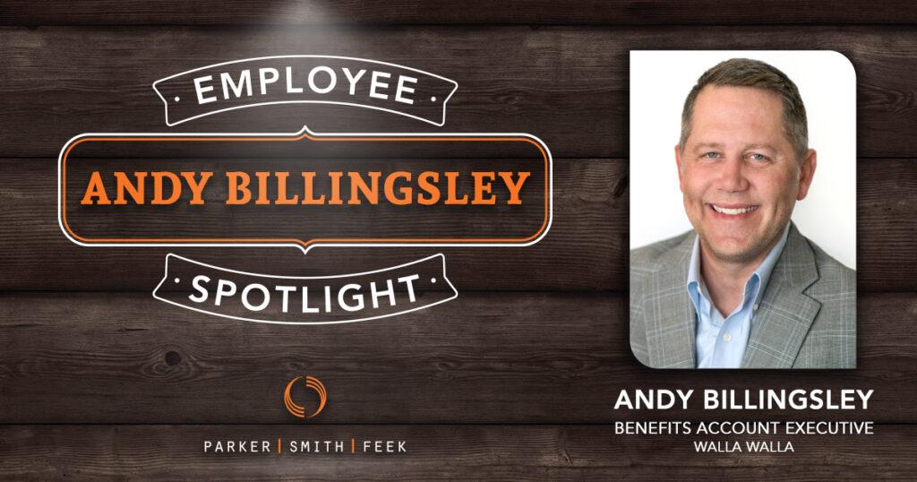Employee Spotlight: Andy Billingsley